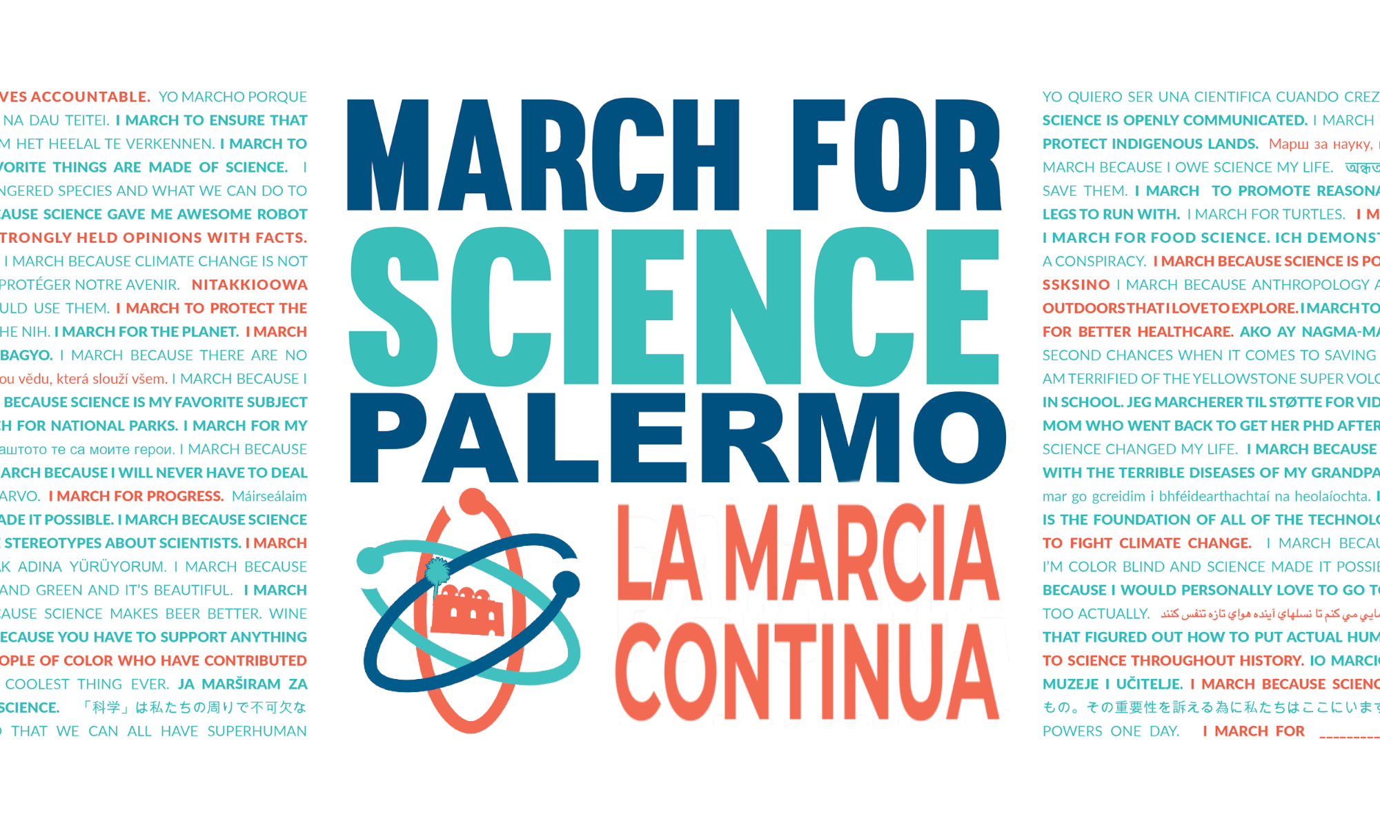 March For Science Palermo Italia